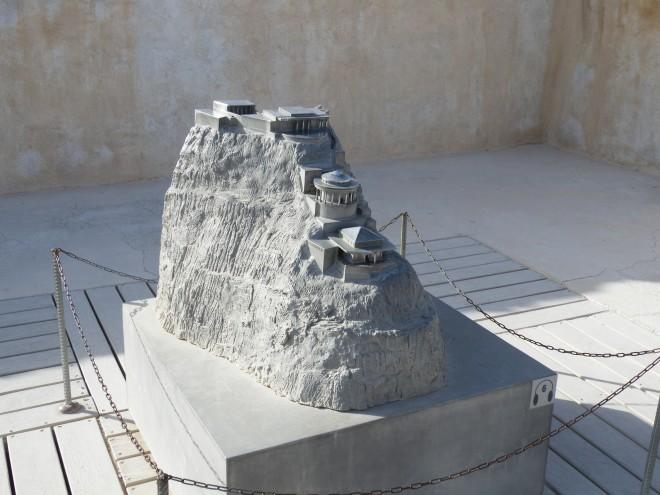大希律其中一個行宮--馬撒大模型